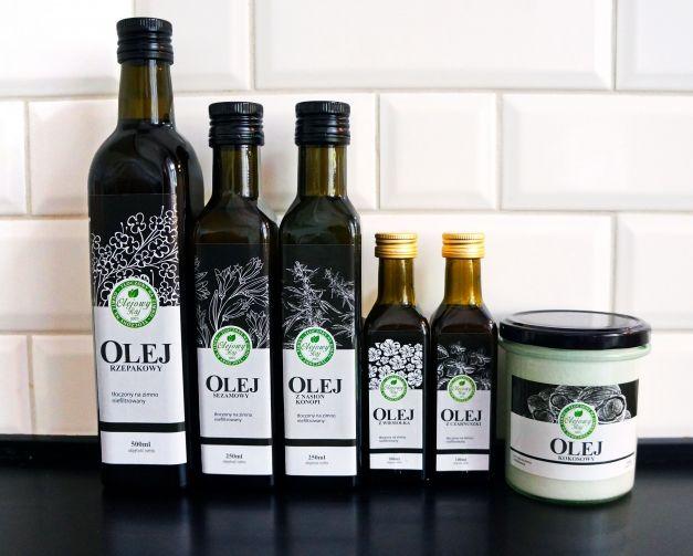 Oleje marki Olejowy Raj